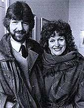 Willy Russell with Barbara Dickson, the very first musical Mrs Johnstone