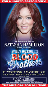 Natasha Hamilton as Mrs Johnstone