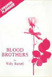 The original Blood Brothers programme