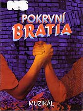 Polish Blood Brothers programme cover