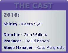 Cast box for Shirley valentine 2010