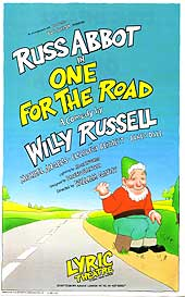 Flyer for One For The Road starring Russ Abbot