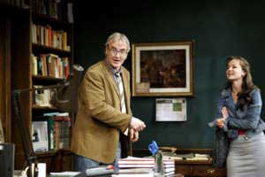 Larry Lamb and Laura Dos Santos as Frank and Rita
