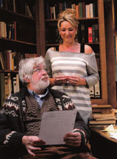 Matthew Kelly and Claire Sweeney in Educating Rita 2012