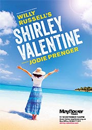 Shirley Valentine:30th anniversary tour of the UK. Glen Walford directs, with Jodie Prenger as Shirley, in this, the 30th anniversary production which opens in Bromley on 2nd March next year.