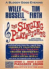 POster for the Singing Playwrights